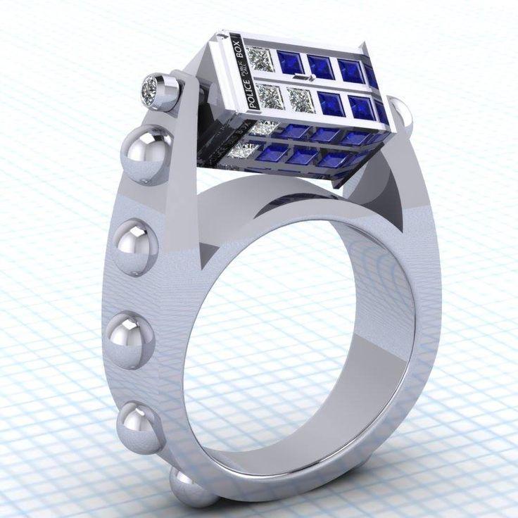 doctor-who-inspired-spinning-tardis-rings