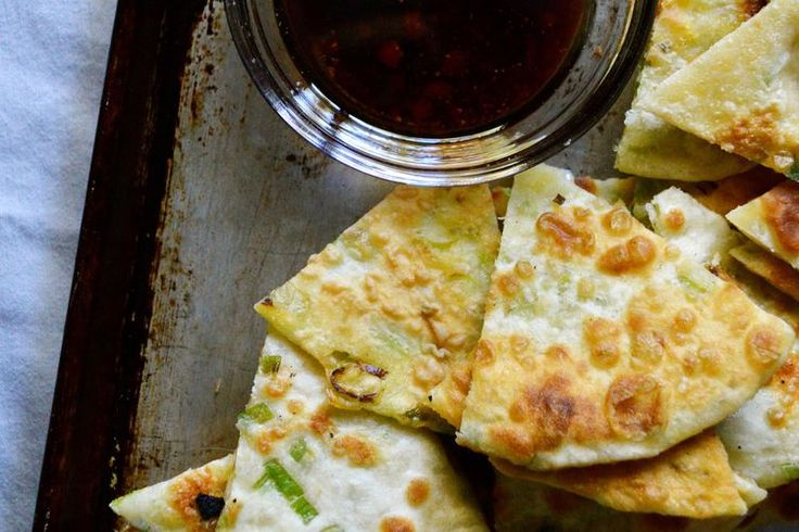 PyeongChange 2018 :: Winter Olympics Party :: Food - How to Make a Savory Korean Scallion Pancake Appetizer