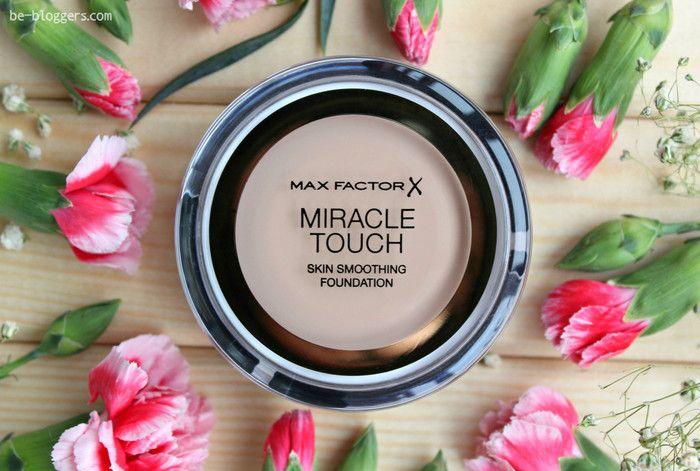 тональный крем max factor miracle touch foundation, отзыв