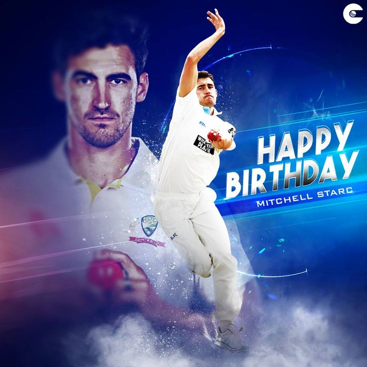The man with the most lethal yorker in world cricket right now    Happy birthday, Mitchell Starc