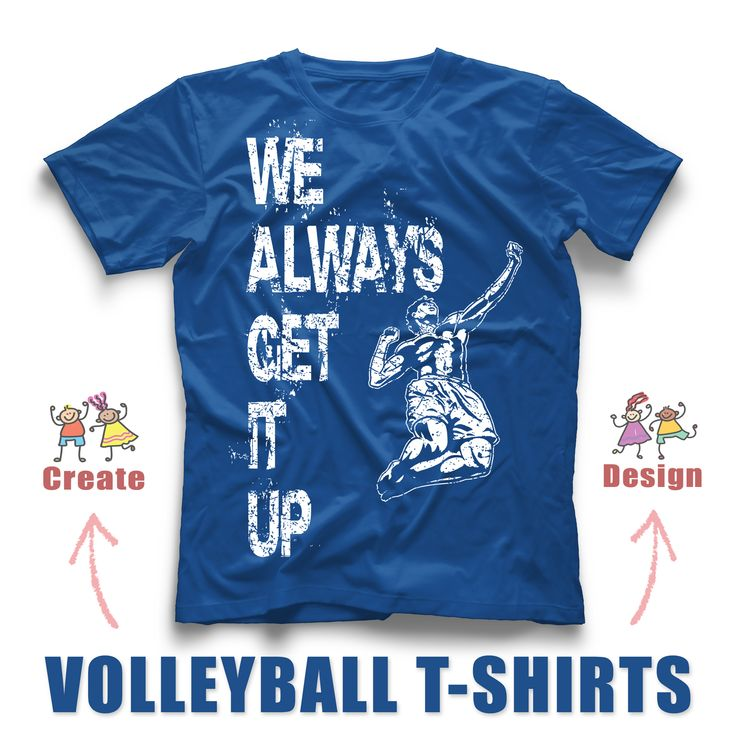 Volleyball Design For Your Team Custom T Shirts!