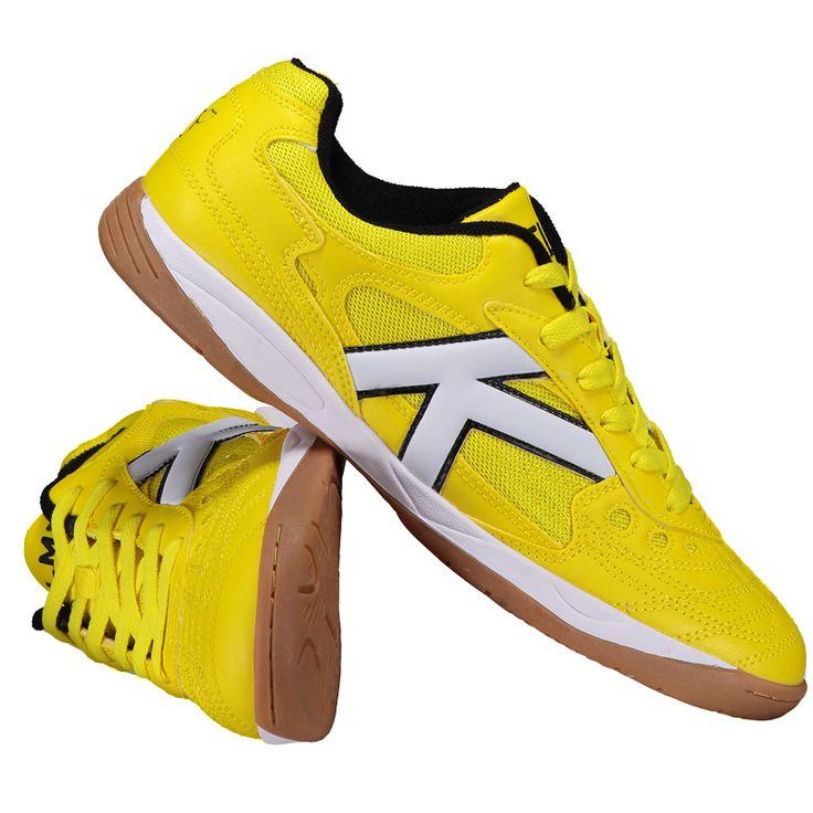 Chuteira Kelme Copa Futsal Amarela Somente na FutFanatics você compra agora Chuteira Kelme Copa Futsal Amarela por apenas R$ 249.90. Futsal. Por apenas 249.90