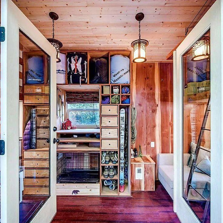 53 migliori immagini tiny houses su pinterest case for Cottage molto piccoli