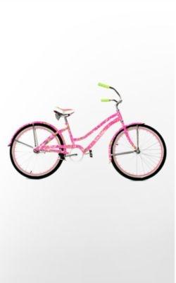 lilly pulitzer bike!! ahh!!