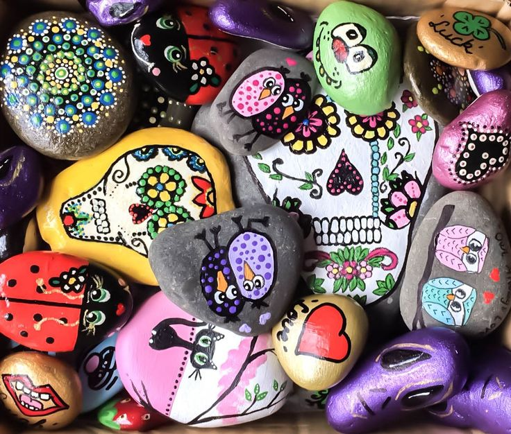 #rockpainting Some of my latest creations