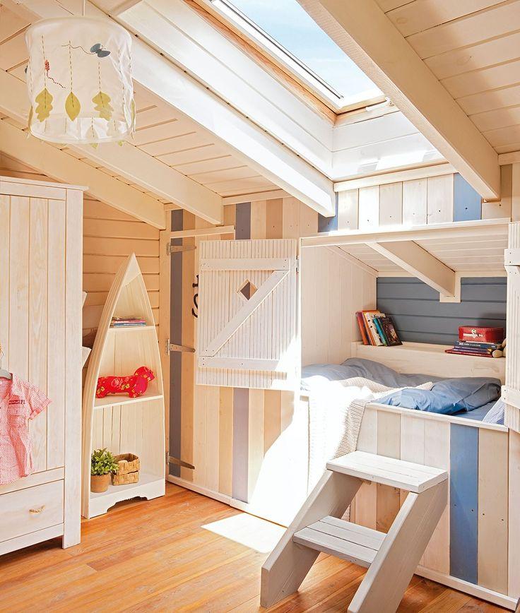 17 mejores ideas sobre nichos de pared en pinterest - Cama empotrada en armario ...