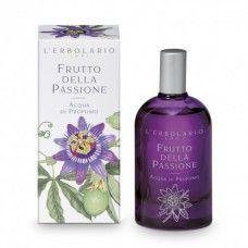 Passion fruit illatú Eau de Parfum maracuja gyümölcs és golgotavirág kivonattal - Rendeld meg online! Parfüm és kozmetikum család az olasz Lerbolario naturkozmetikumoktól