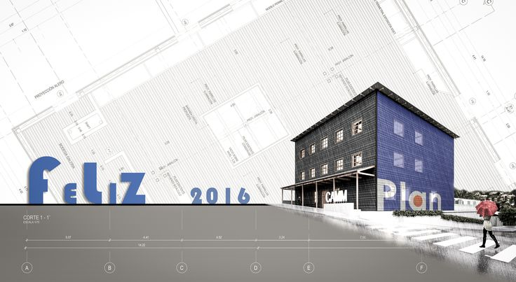 Feliz año nuevo / Happy new year / PLAN Arquitectos / www.planarquitectos.cl