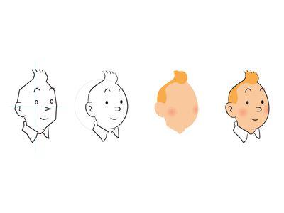 Day 21 - Tintin - Process