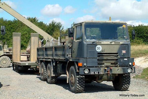 The Bedford TM 6-6 heavy utility truck was developed to meet British Army requirement.