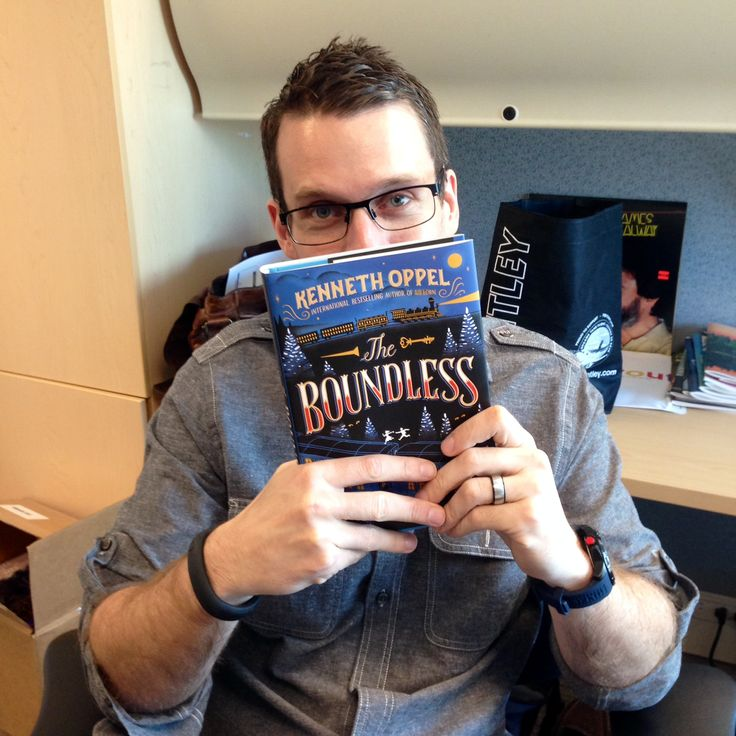 Cory is thankful for The Boundless by Kenneth Oppel because it a great Canadian story written by one of our finest authors! #ThankYouKidsLit
