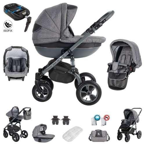 Friedrich Hugo Easy Comfort 4 In 1 Kombi Kinderwagen Isofix Far 769 90 Baby Stage Comfort Easy Friedrich H In 2020 Stroller Baby Equipment Baby Car Seats