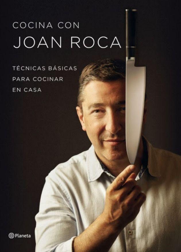 Libro Cocina con Joan Roca, libro del chef del Celler de Can Roca Cocina con Joan Roca ISBN:  9788408121473 Editorial Planeta PVR: 24,90 €