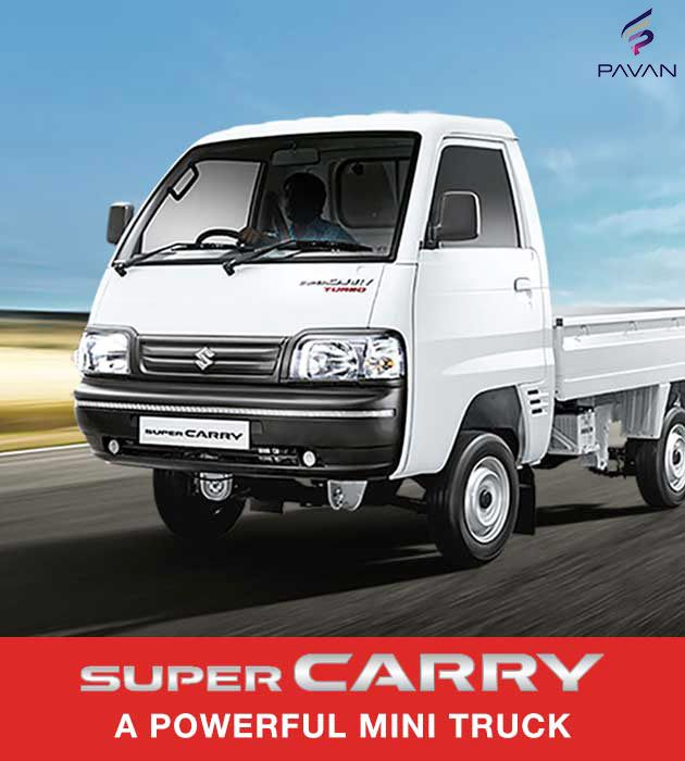 Super Carry Will Give Your Business A New Identity And Make All Your Dreams Come True Supercarry Marutisuzuki Pavanmot Car Dealer Suzuki Commercial Vehicle