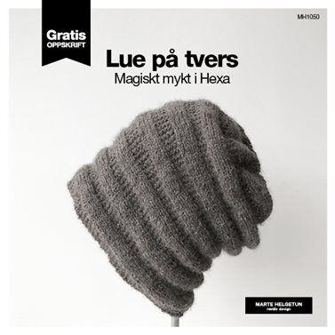 Dagens gratisoppskrift: Lue på tvers | Strikkeoppskrift.com