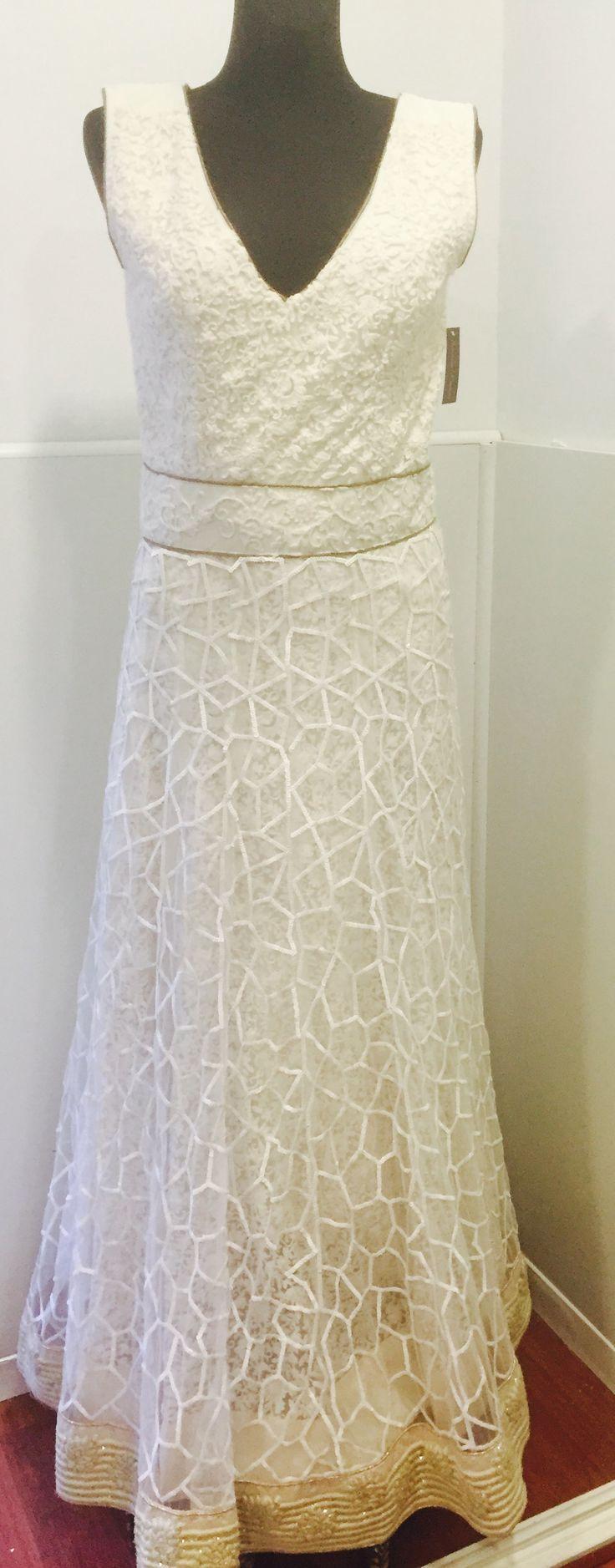 Vestido de Novia made in India bordado a mano
