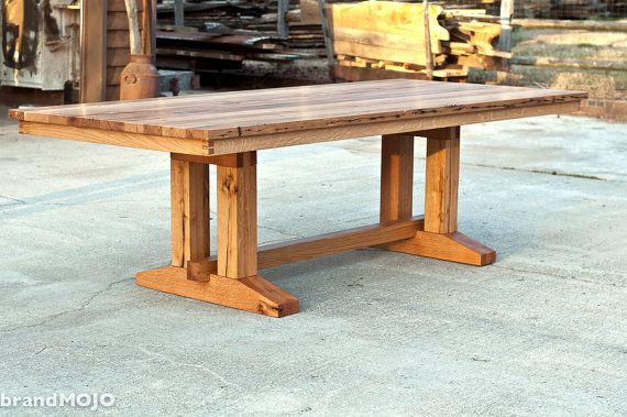 Barnwood Dining Table  Reclaimed Wood Table  by brandMOJOinteriors, $2800.00