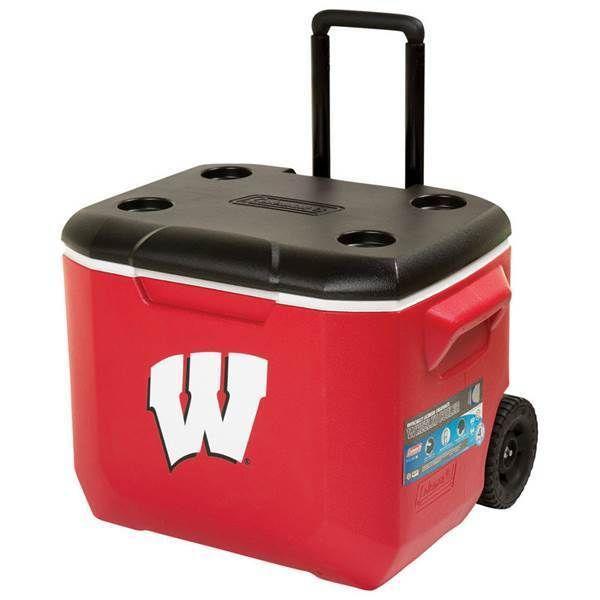Coleman NCAA University of Wisconsin Badgers Tailgate Cooler 60 quart Chest   Sports Mem, Cards & Fan Shop, Fan Apparel & Souvenirs, College-NCAA   eBay!