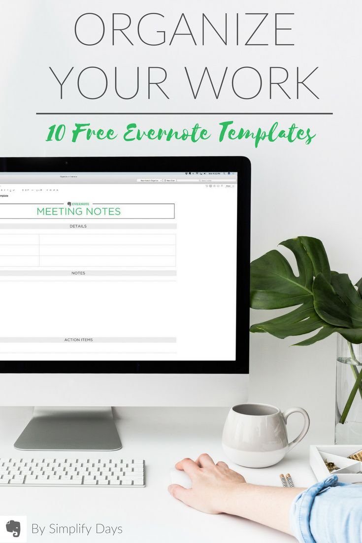 26 best evernote for real estate images on pinterest for Evernote meeting notes template