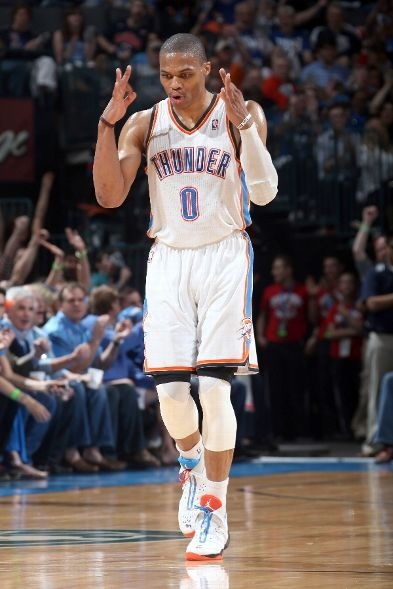 Call it! 1-2-Three!!! (April 7, 2013 | New York Knicks @ Oklahoma City Thunder | Chesapeake Energy Arena in Oklahoma City, Oklahoma) #nba #basketball #sports