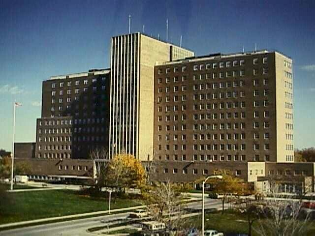 """Naval Hospital, Great Lakes, IL: Hospital Corps """"A"""" School where we had our classes was located near the hospital that is pictured. I was Assistant Class Adjutant. Graduated top of the class and offered a """"C"""" school with immediate bump up to HM3."""