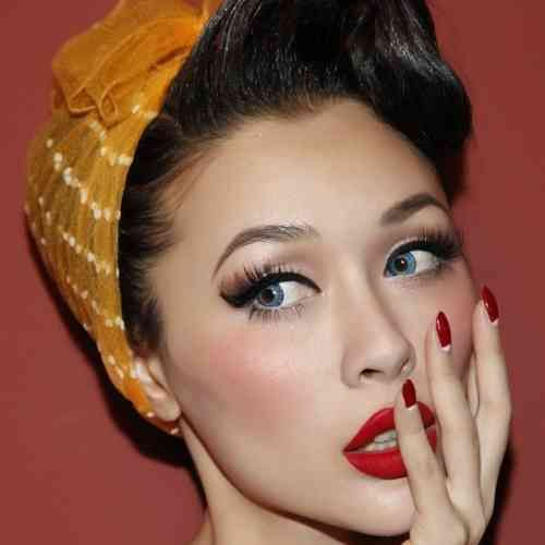 maquillage vintage tuto