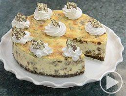 Cheesecake de Casino de Menta por Sandra Plevisani