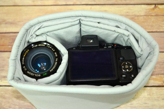 $38 Camera bag Insert for your purse backpack or travel by DarbyMack