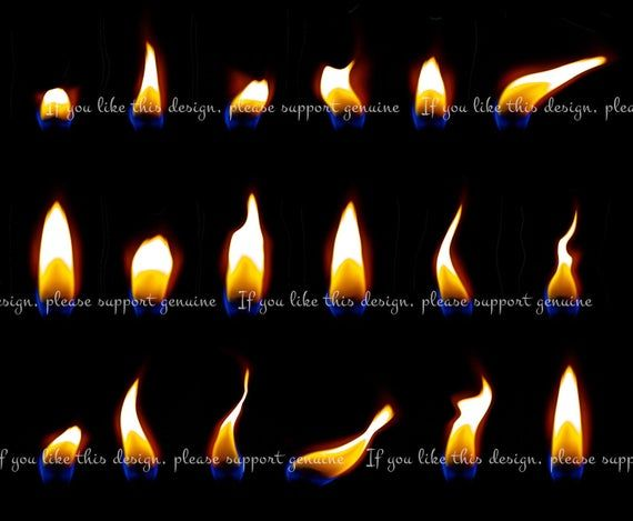 Pin Drawn Fire Candle Flame Fire Candle Candle Flames Candles