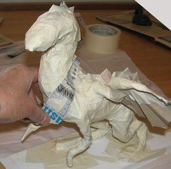 How to Make a Paper Mache Dragon