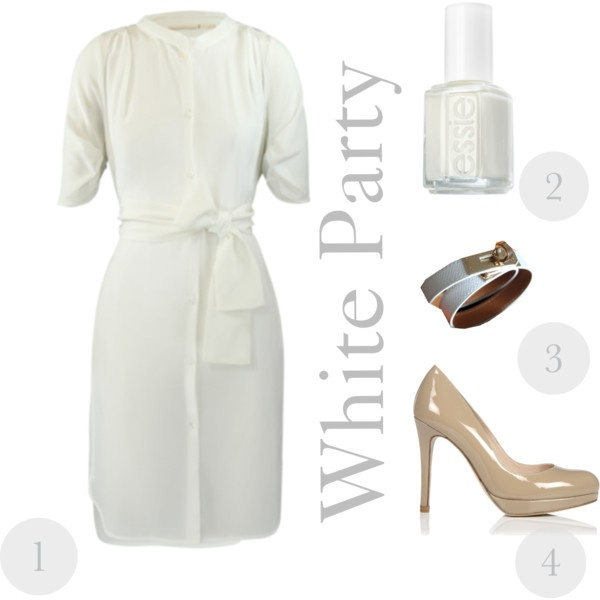White Party: Parties Outfits, Gold Outfits, Outfits Fit