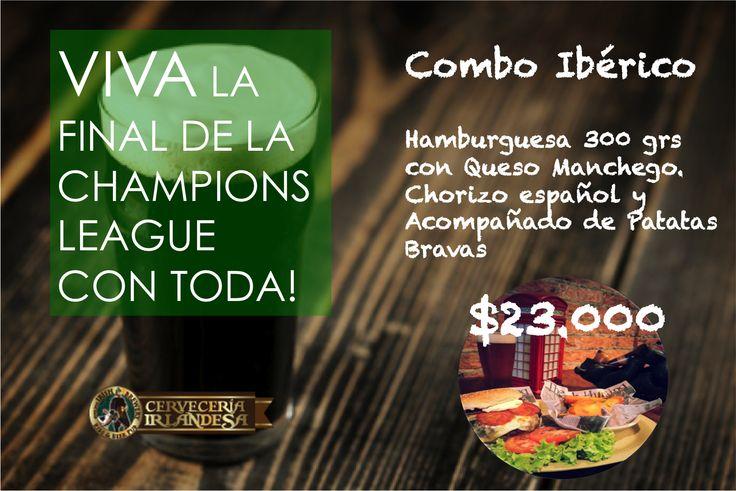 #championsleague #cerveceriairlandesa