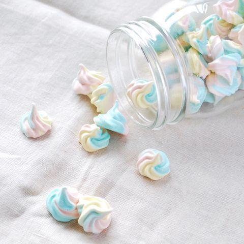 3色で可愛い!パステルメレンゲクッキーの作り方