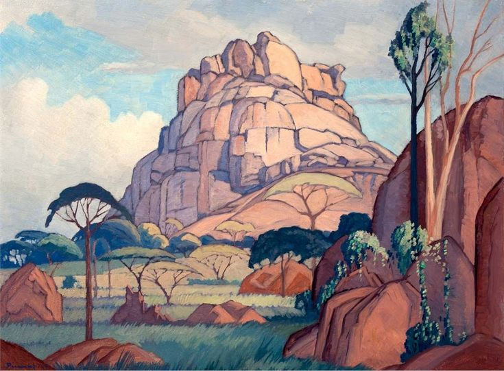 south African artist, Jacobus Hendrik Pierneef. Captured by Clive Hassall Photography, producers of fine art capture and advanced colour management in South Africa. www.clivehassall.com