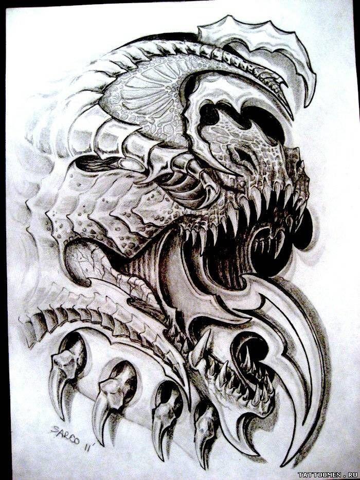 9 best biomech skulls images on pinterest skulls tattoo art and tattoo designs. Black Bedroom Furniture Sets. Home Design Ideas