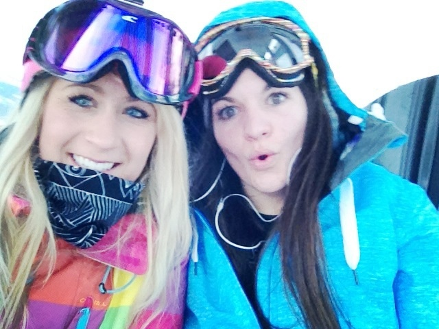 Day of boarding in Val T :)