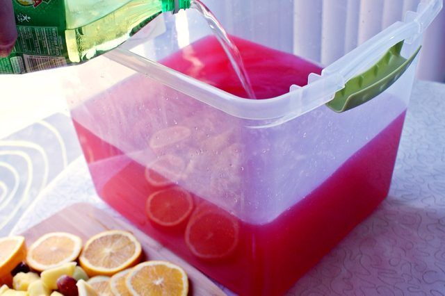 Learn how to make a tropical jungle juice recipe with easy to follow instruction with tips and serving suggestions.