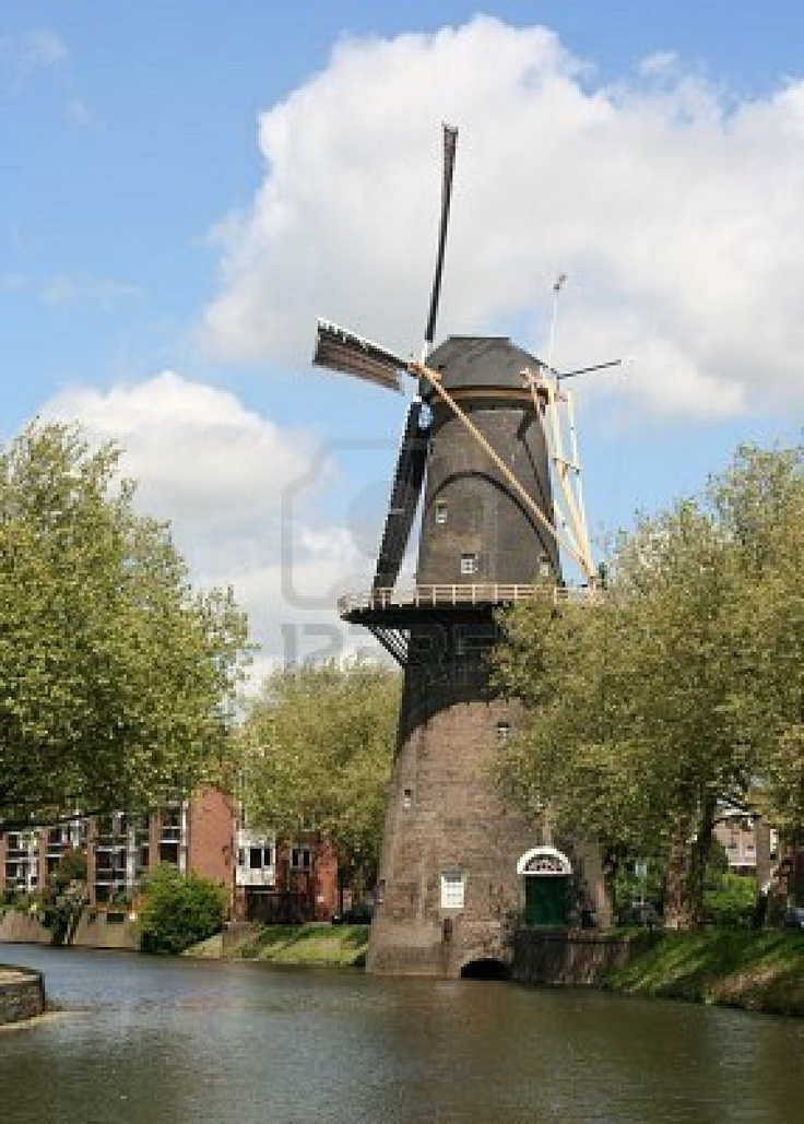 Dutch windmill in Schiedam, Where my Mom is from