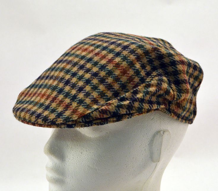 Mens Boys Ladies by Failsworth Country Flat Cap Wool in-lined Clearance UK55cm