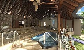 Indoor spa area