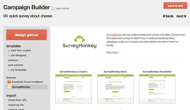 surveymonkey-email-templatesjpg (976×566) Questionnaire UI - survey question template