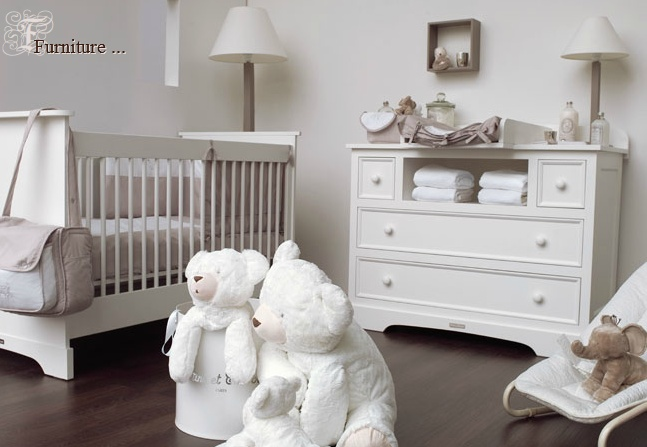 Nursery. Super cute with pops of color and painted walls