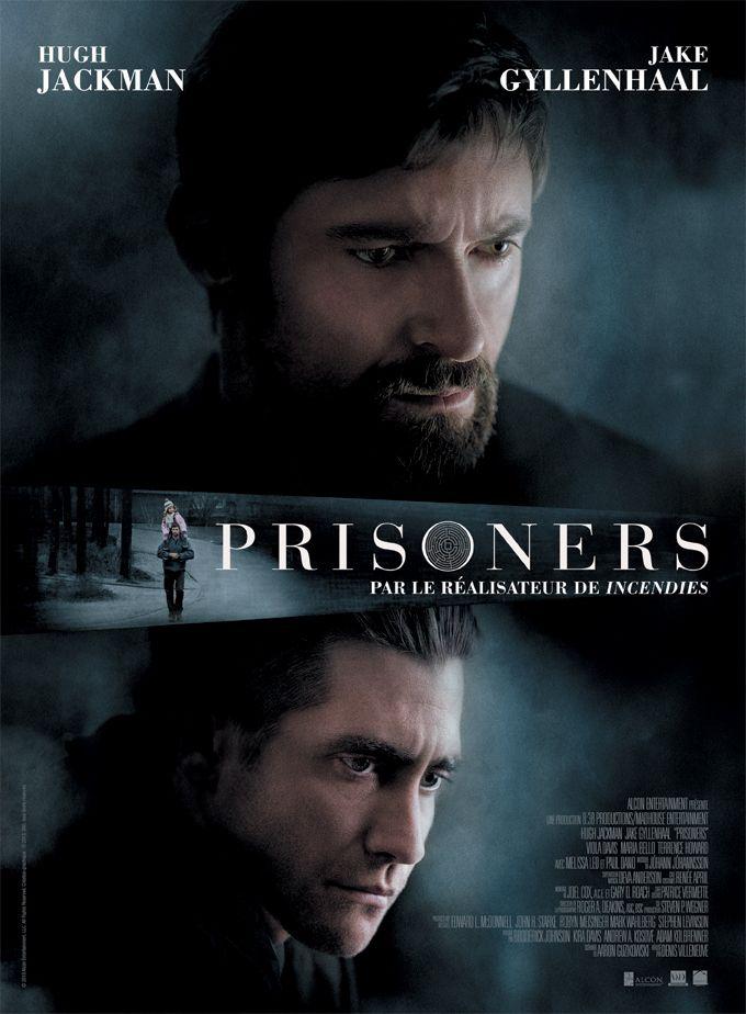 Prisoners est un film de Denis Villeneuve avec Hugh Jackman, Jake Gyllenhaal. Synopsis : Dans la banlieue de Boston, deux fillettes de 6 ans, Anna et Joy, ont disparu. Le détective Loki privil