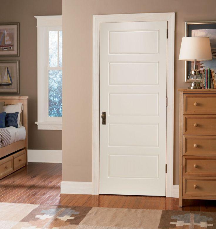 Delightful Interior Door With 5 Panels Pictures