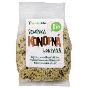 Bio Konopné semínko loupané 100 g - Konopné semínko obsahuje esenciální aminokyseliny omega 3 a 6 v ideálním poměru vhodném pro lidský organismus. Je cenné svým obsahem vlákniny a je... http://www.prozdravi.cz/bio-konopne-seminko-loupane-100-g.html?d=526