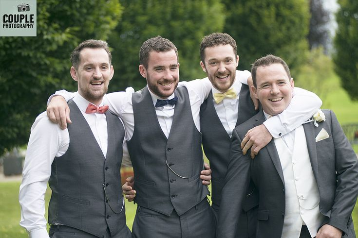 The groomsmen! Weddings at Mullingar Park Hotel by Couple Photography.