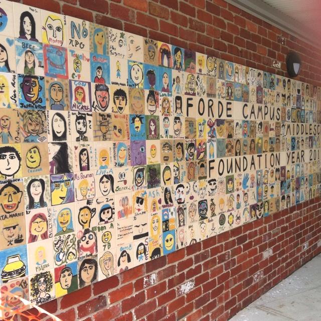 55 best mural images on pinterest mural ideas school for Ceramic mural designs