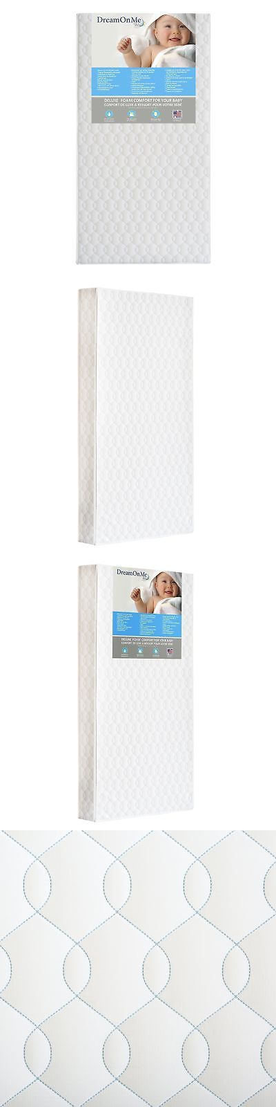 Mattress Pads and Covers 162041: Dream On Me Full Size Firm Foam Crib And Toddler Bed Mattress, Carousel, 6 -> BUY IT NOW ONLY: $54.28 on eBay!