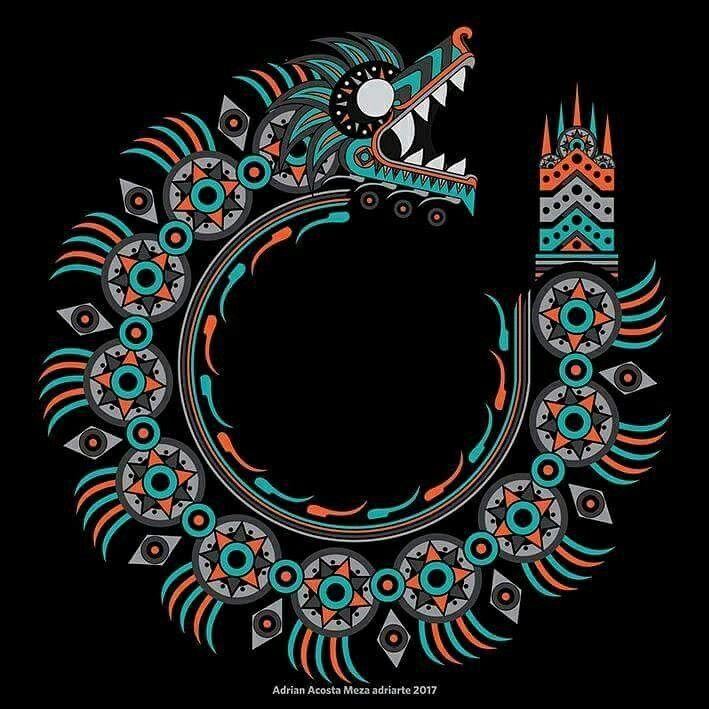 Quetzalcóatl por Adrian Acosta Meza adriarte
