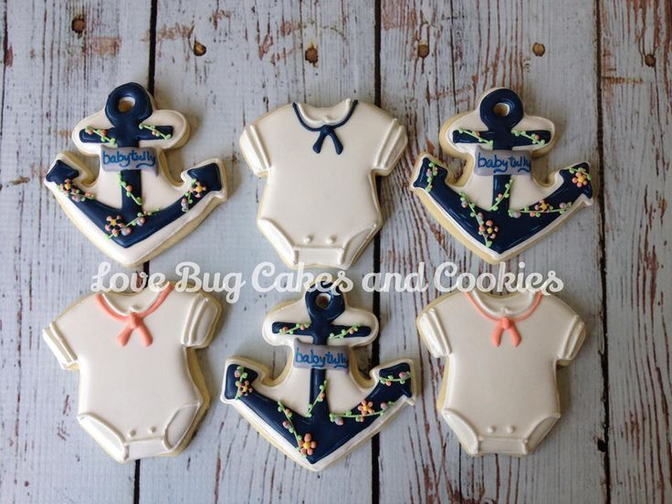 Nautical Shower | Cookie Connection